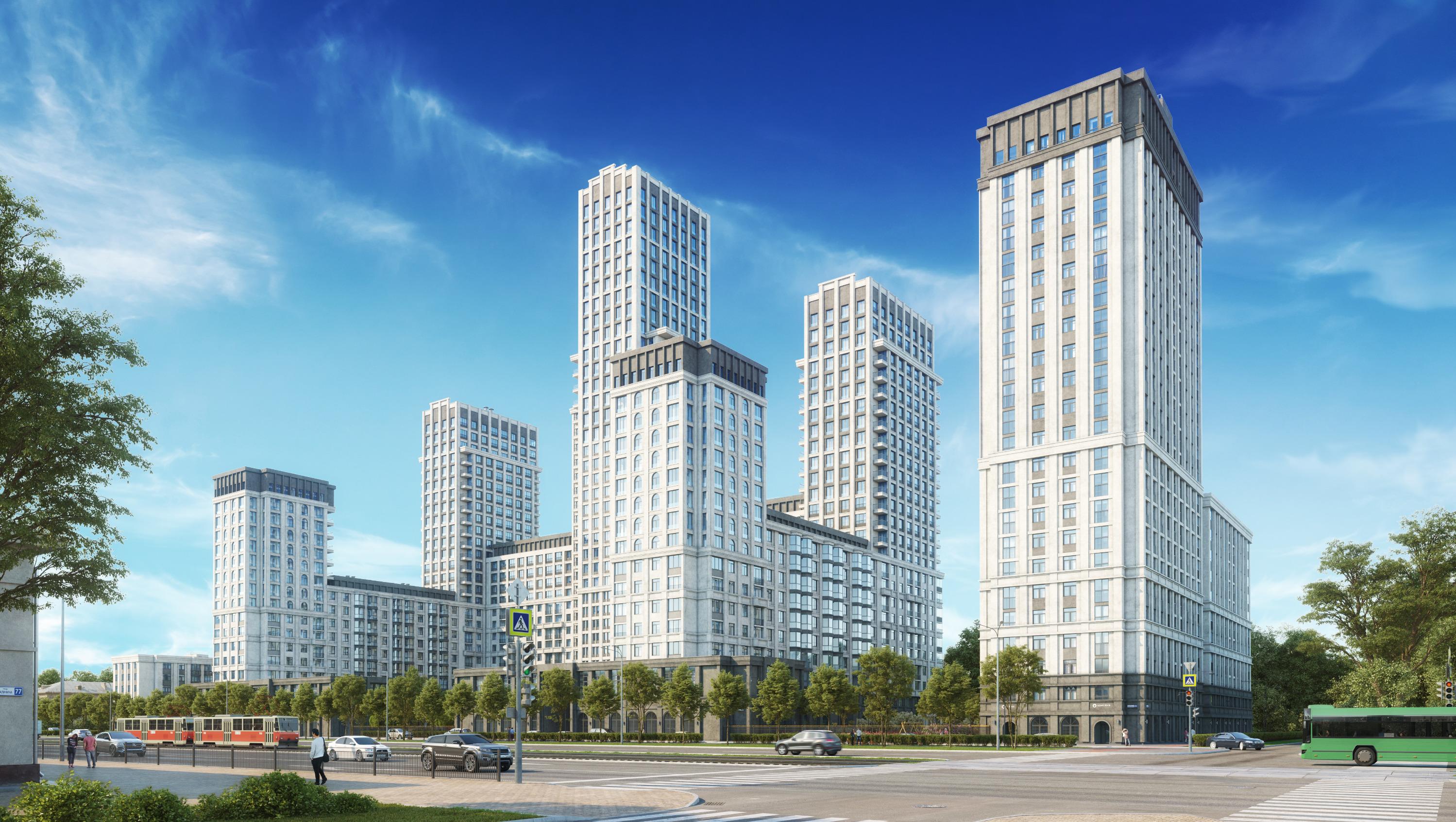 В первой очереди будут возведены две секции — 11- и 24-этажные