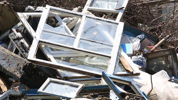 В Шумихе ликвидируют городские свалки