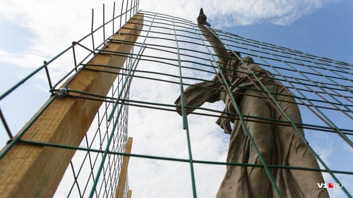 Волгоград оставят без «Родины-матери»: весной главную статую России закроют на капремонт