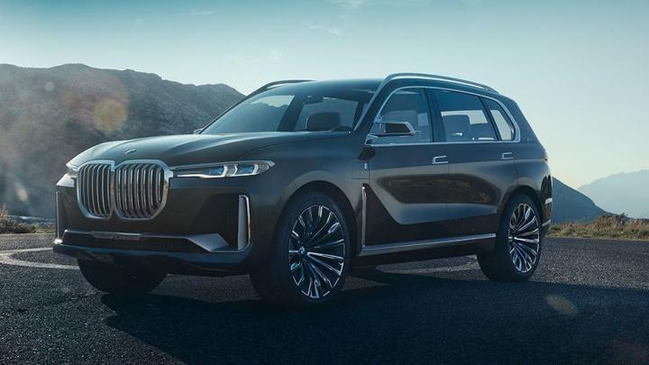 Немцы сделали новый огромный BMW X7