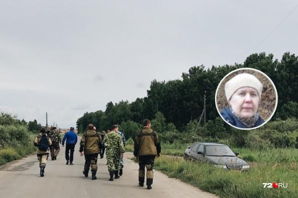 Женщину нашли в Ялуторовском районе