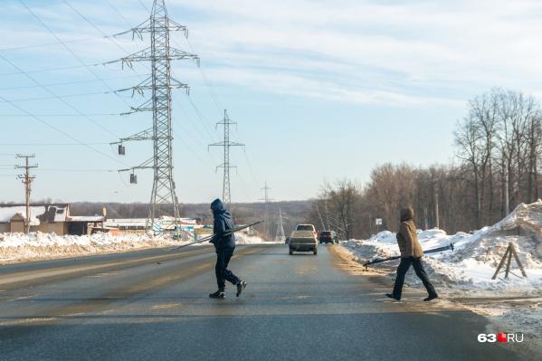 Красноглинское шоссе перекроют на несколько часов