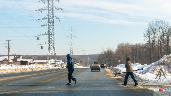 В Самаре перекроют автомобильное движение по Красноглинскому шоссе