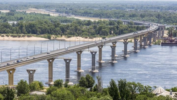 «Танцующий» через Волгу мост: знаменитый,надежный, недостроенный
