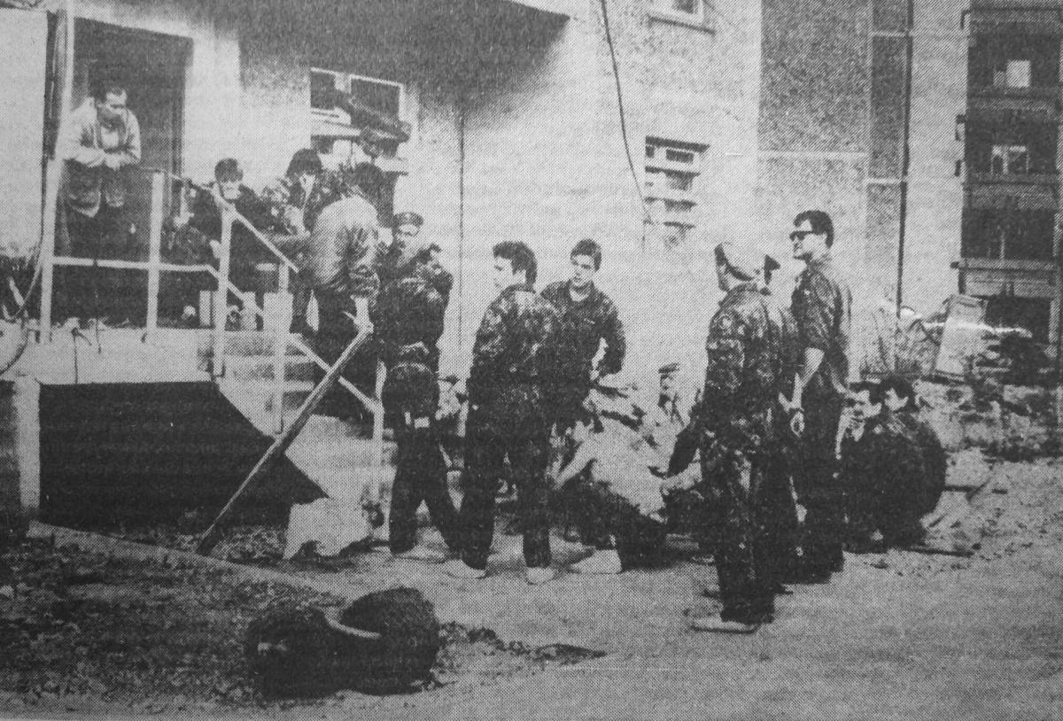 В 1992 году афганцы превратили дома в неприступную крепость и организовали блокпосты