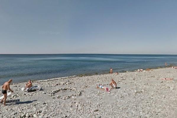 Происшествие случилось на берегу Черного моря в Анапе