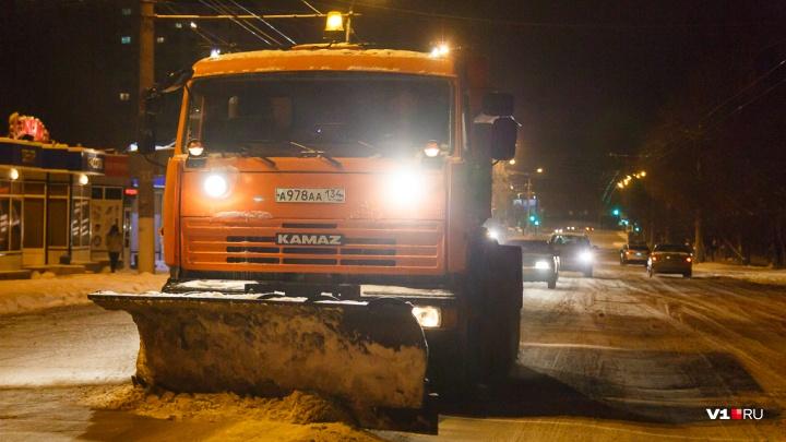 Дорожники Волгоградской области готовы к борьбе со снежной стихией