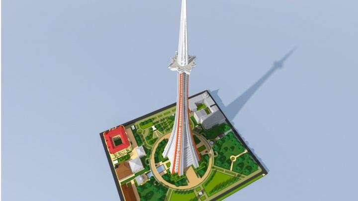 Ростовчанин предложил построить в центре города башню выше Эйфелевой