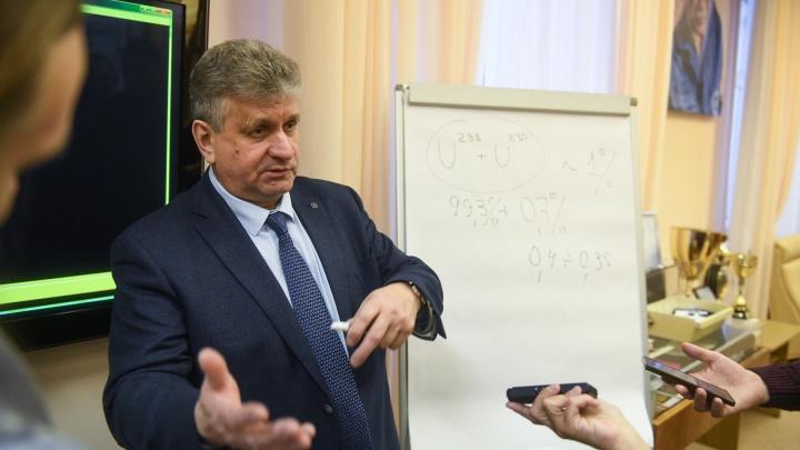 «Это ценность, а не отходы»: директор уральского комбината, куда свозят урановые «хвосты», — о скандале