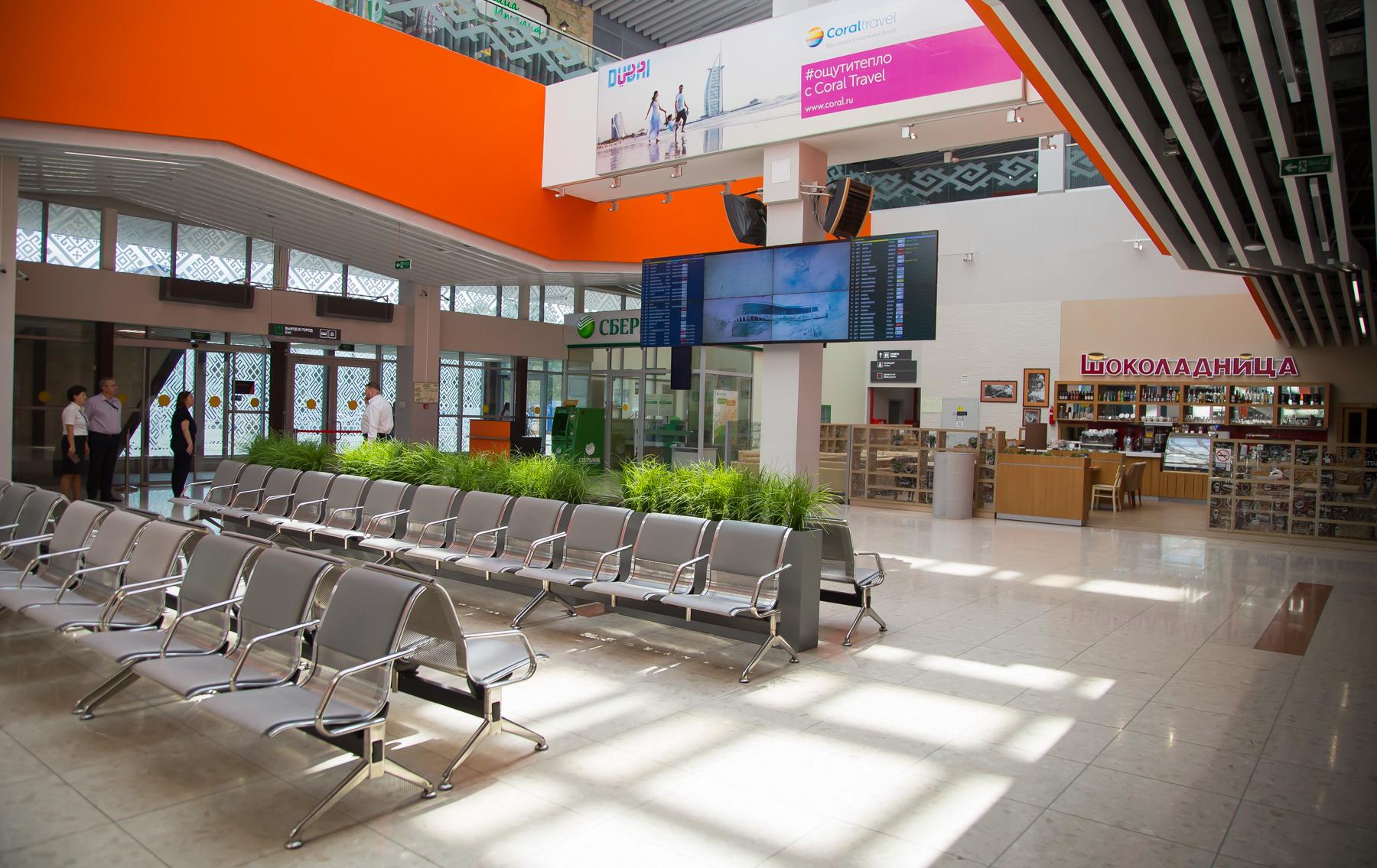 Пропускная способность нового терминала выросла до 800 пассажиров в час