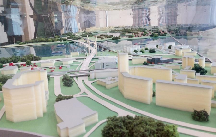 Стоимость четвертого моста через Обь вНовосибирске оценили в35 млрд рублей
