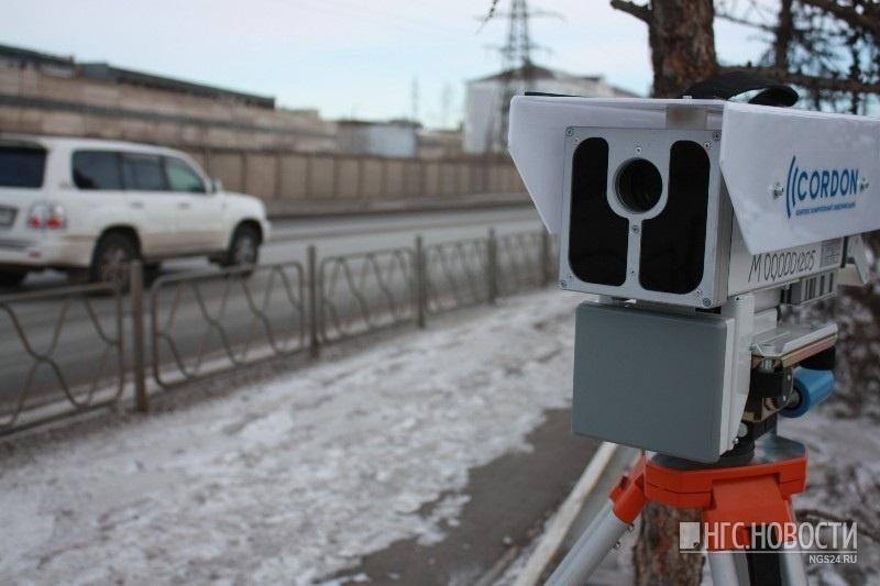 ВКрасноярске камеры задень насчитали 16 тыс.  нарушений ПДД