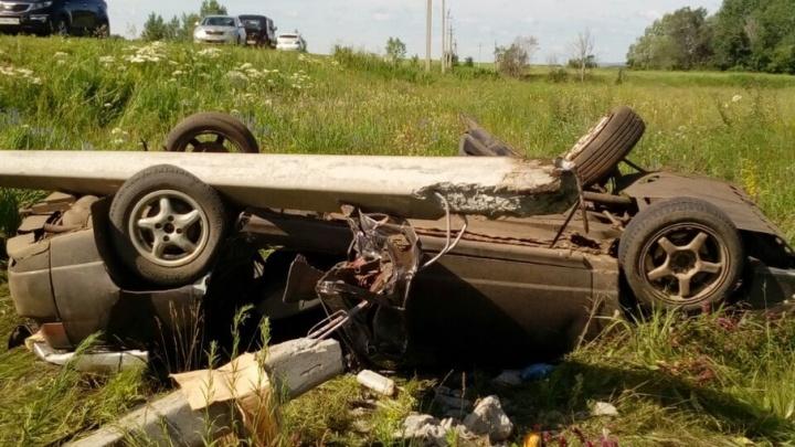 В страшном ДТП в Башкирии погиб школьник: за рулем был водитель без прав