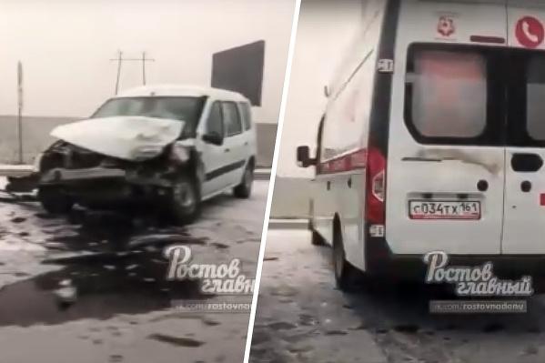 Оба участника аварии отправились в больницу