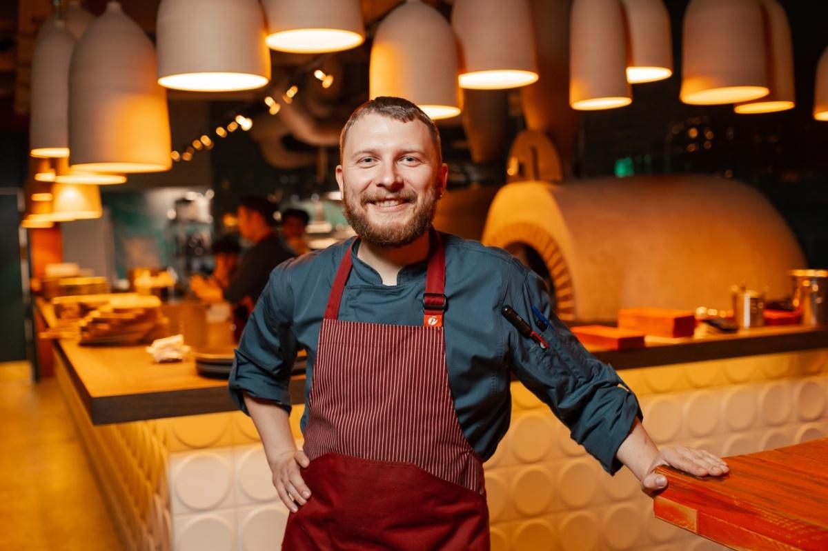 Шеф-повар ресторана Pumpula АлександрГордеев