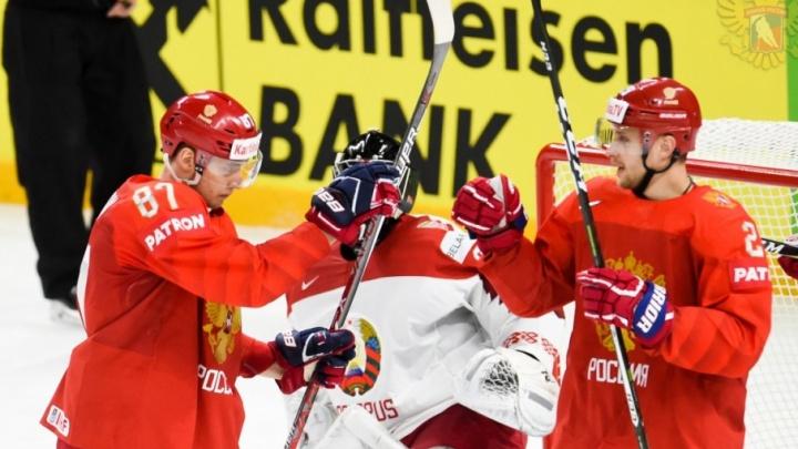 Хоккеист из Челябинска внёс вклад в победу сборной России над Белоруссией