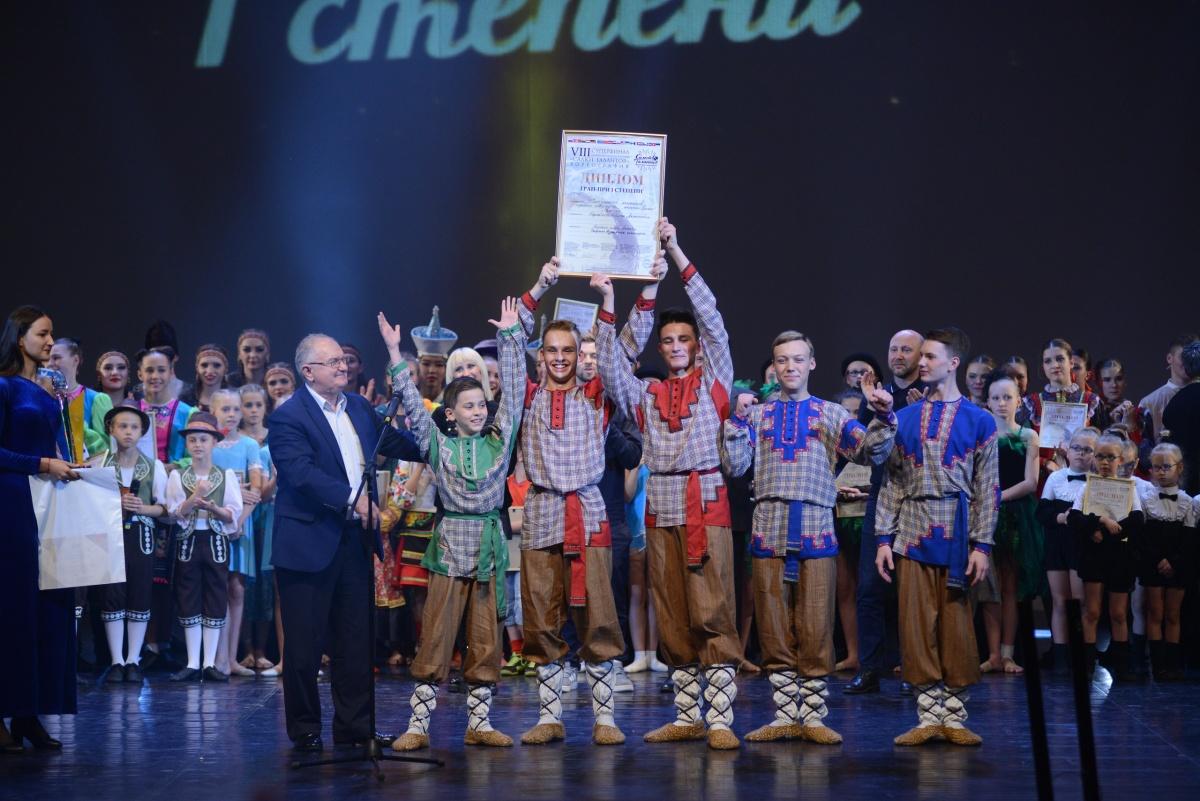Челябинские танцоры забрали главный приз чемпионата