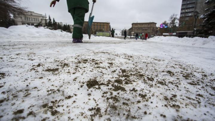 Полторы сотни новосибирцев получили травмы на скользких тротуарах