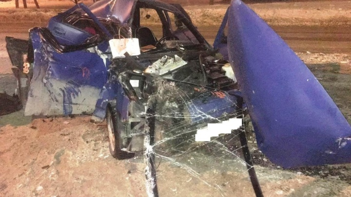 Машина превратилась в груду металла: в ДТП с «Ладой» и снегоуборщиком погибла пассажирка легковушки
