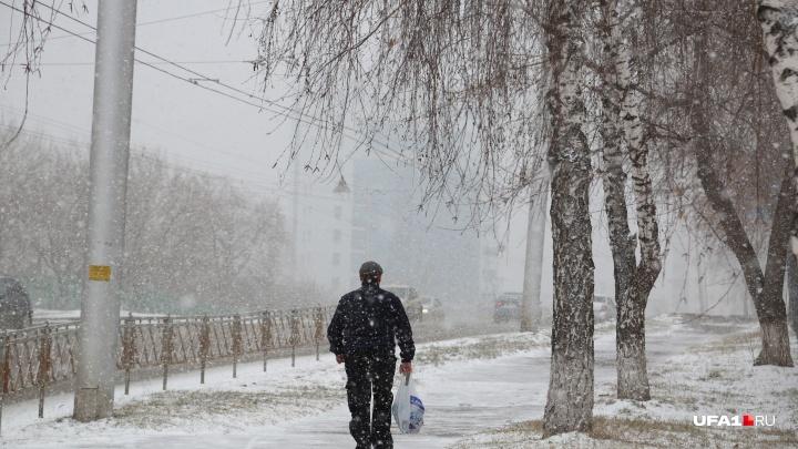 Весна отменяется: в Башкирии обещают похолодание и снег