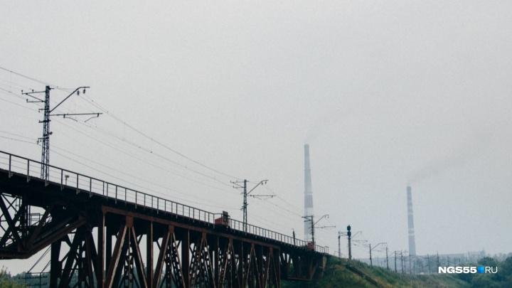 В нескольких округах Омска зафиксировали превышение ПДК после дыма от лесных пожаров