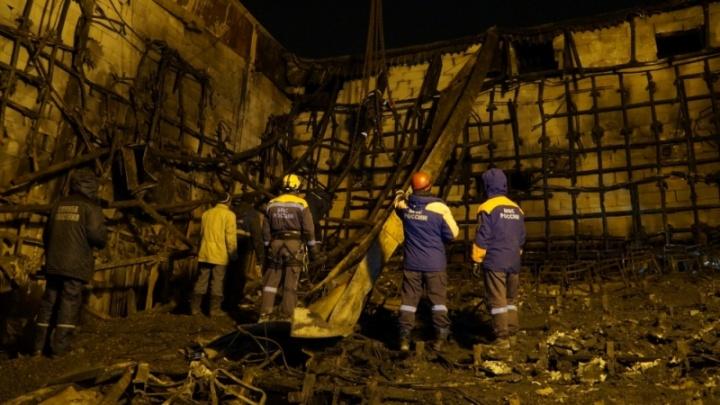 Глава МЧС России объявил о необходимости снести сгоревший торговый центр