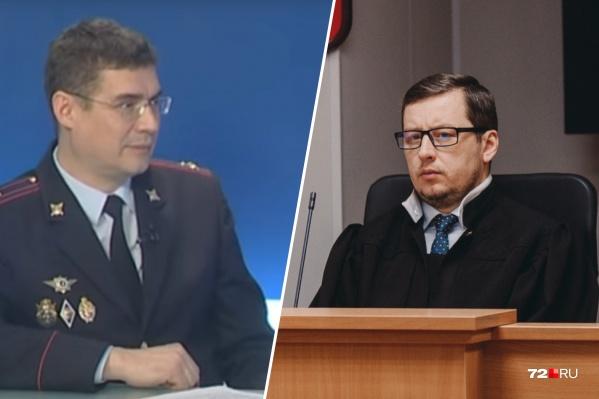 Дмитрий Габов и судья Станислав Перминов