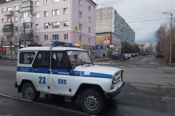 Полиция обнаружила автомобиль на одной из улиц города