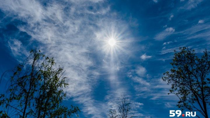 Возвращается жара? Публикуем прогноз погоды на выходные в Перми