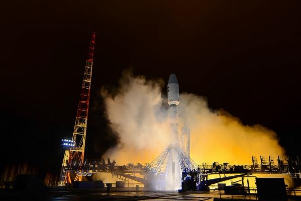 Пуск ракеты-носителя «Союз-2» в 2018 году совершен в третий раз