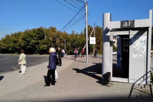 Пока оба остановочных пункта на остановке «Шлюз» стоят на кольце, но с 20 сентября один из них перенесут на улицу Русскую