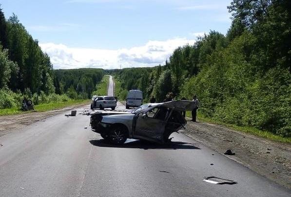 В Прикамье в ДТП погиб один человек и пострадали двое детей