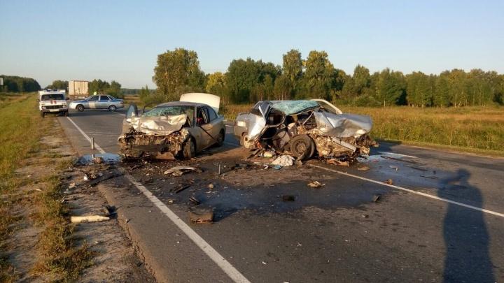 Возвращалась домой с бабушкой и дедушкой: в страшной аварии под Ялуторовском погибла школьница