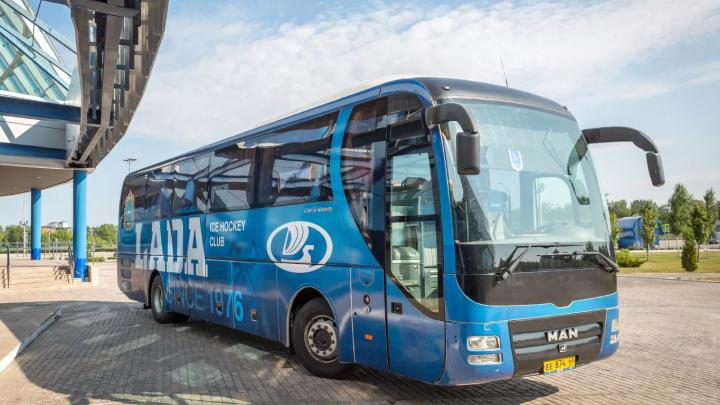 Фанатам предложили создать дизайн для формы и автобуса ХК «Лада»