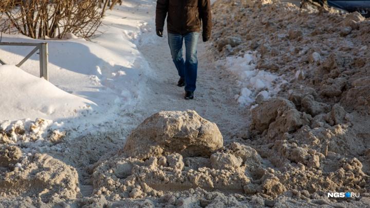 Снежные тропы: смотрим, как справляются (или нет) в городе с уборкой улиц