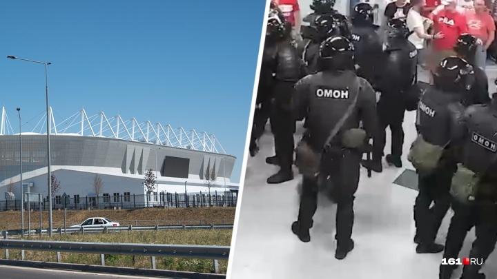 Стычка ОМОНа с футбольными болельщиками на «Ростов Арене» признана одним из самых ярких событий июля