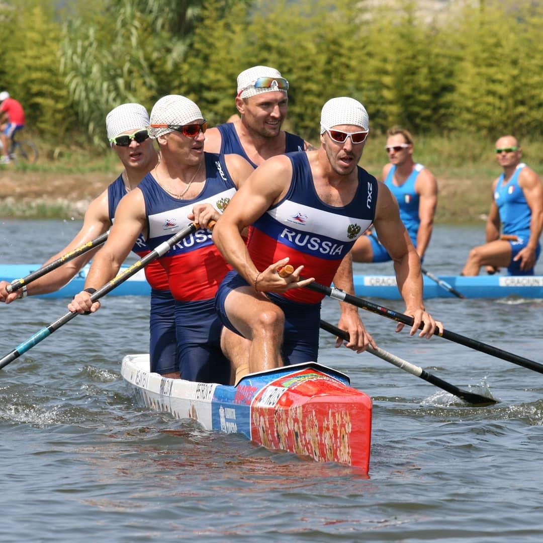 Брюховецкие гребцы стали чемпионами мира всоставе государственной сборной