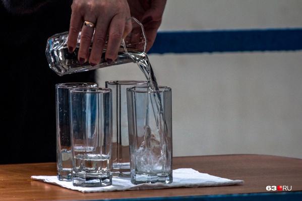 Теперь горожане смогут набрать воды из-под крана