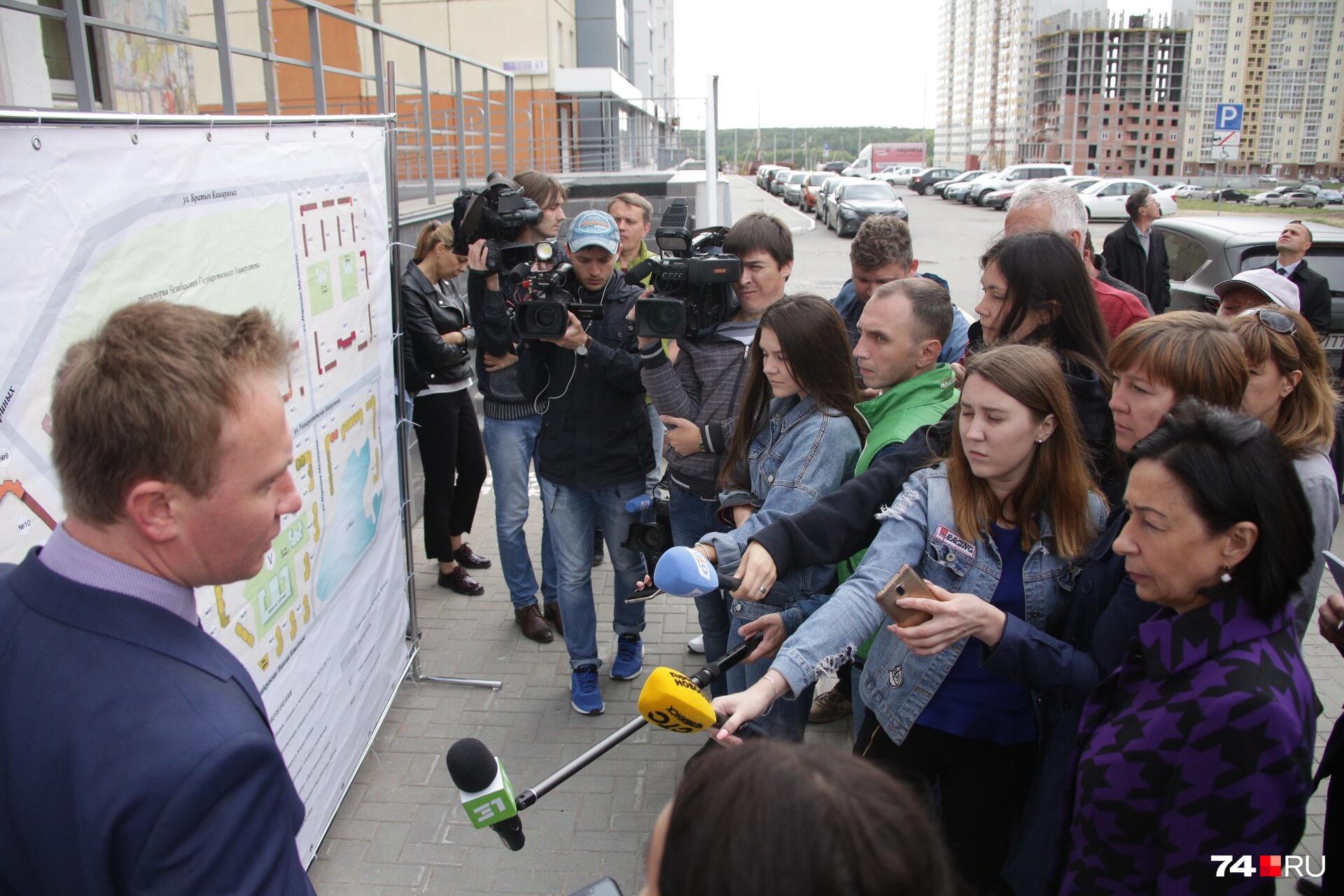 Сергей Репринцев заверил, что один из садиков будет сдан уже 30 ноября