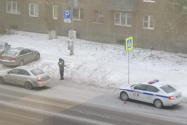 За осень на пешеходном переходе на улице Елькина пострадал второй челябинец