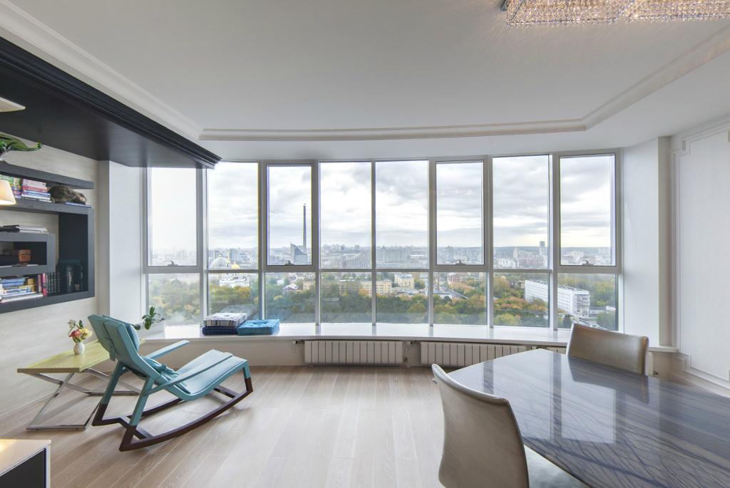 Выше только небо: квартиры с хорошим видом из окна