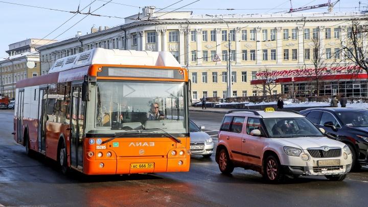 На дороги Нижнего Новгорода вернулся популярный автобус А-58. Публикуем карту его пути