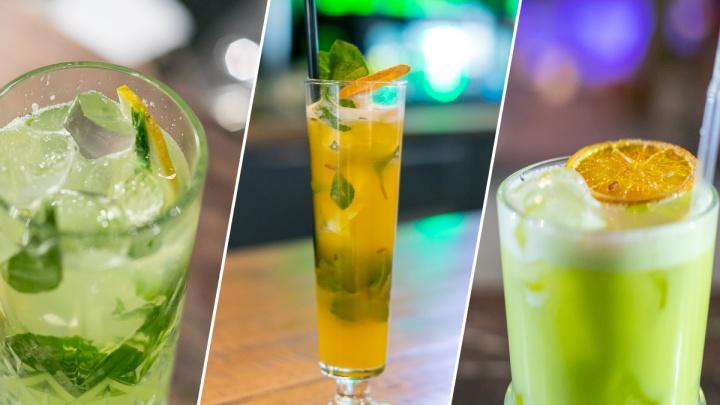 «Освежает и бодрит»: три видеорецепта безалкогольных коктейлей от красноярских барменов