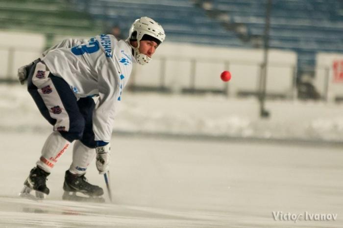 Матч проходил в Новосибирске