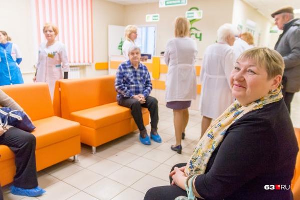 Поликлиническое отделение №1 на улице Свободы открылось после ремонта в новом формате
