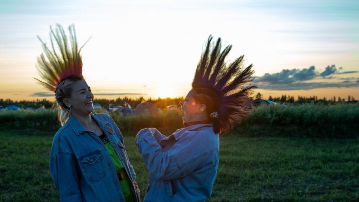 Танцы в грязи, единороги и разноцветные ирокезы: в Ярославле стартовал«Доброфест»