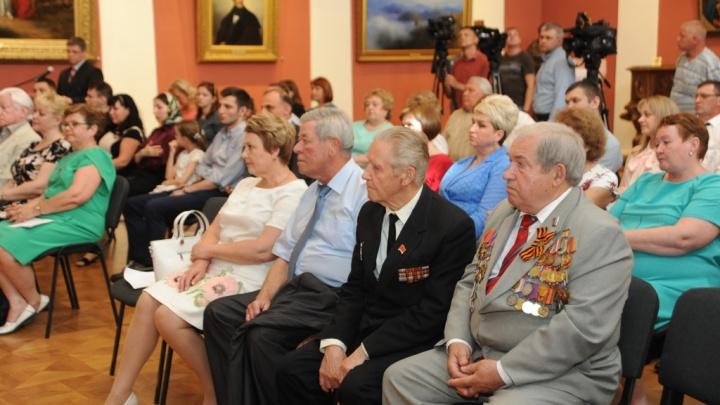 Губернатор наградил лучших работников Ярославской области: фоторепортаж
