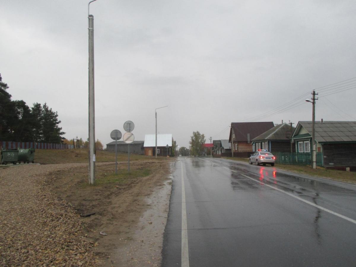 На этом месте в деревне Шилокша произошла трагедия