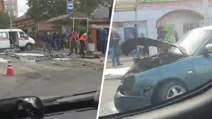 В Ростове в аварии на улице Портовой пострадал 6-летний ребенок