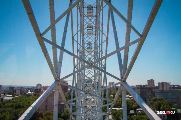 Новое колесо обозрения будет выше, чем «Одно небо» в парке Революции
